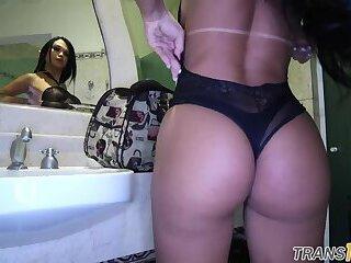 Latina ts beauty banged by bbc
