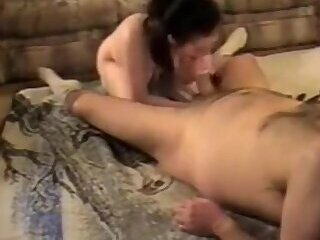 Daddy Slams The Petite Babysitter Jerkoff Challenge