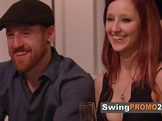 Amateur swingers start a new sexual challenge in a reality show swing house on national TV.