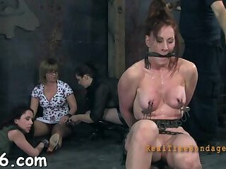 Luscious minx is doing things