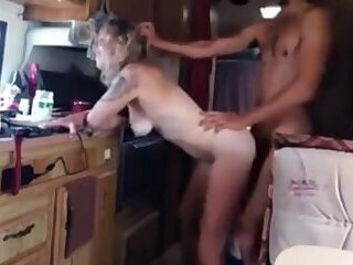 fucking in the morning in the trailer