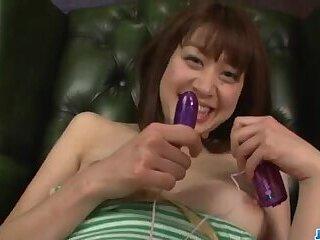 Maki Sarada wants jizz on face after proper cock sucking  - More at javhd.net