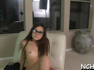 Dangler visits mouth and insatiable Cali Doe's hole