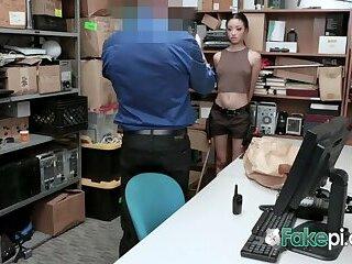 SCARLETT BLOOM having rough sex with RANDY inspector