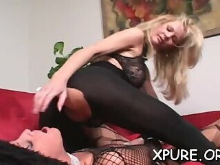 Luxurious darling gets roughly slammed