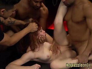 Fucked by four guys