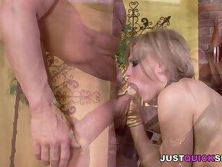Blonde Buttfucked