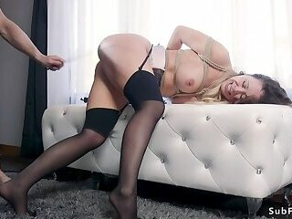 College guy fucks mom and her student