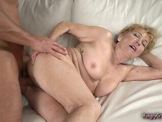 Big cock for granny