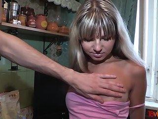 18videoz - Gina Gerson - Teen fucked on a dinner table
