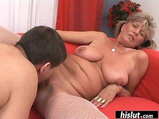Eva is a cock hungry granny