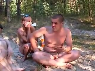 Russian Nudists Happy people don t ware pants