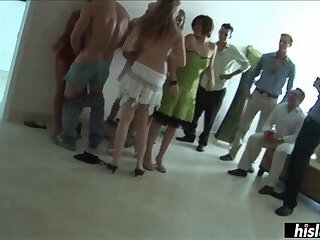 Awesome orgy with insanely horny chicks