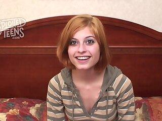 Brand new redheaded teenager gets broken in at ExploitedTeens