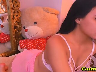 Busty Teen Fucks Her Pussy with toy Intensely