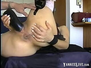 Extreme Toy and Anal Squirt