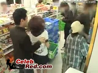 Screenshot video japanese girl gets molested in a store full of people  asian