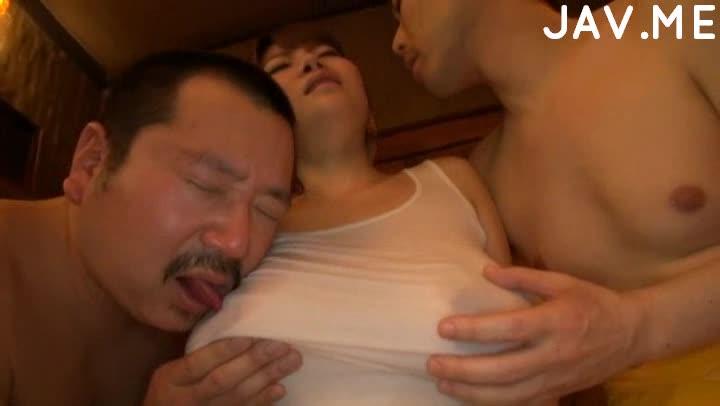 Screenshot video titty asian slut vs two dicks