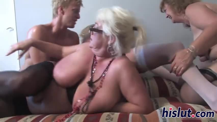Tall wife amature gangbang