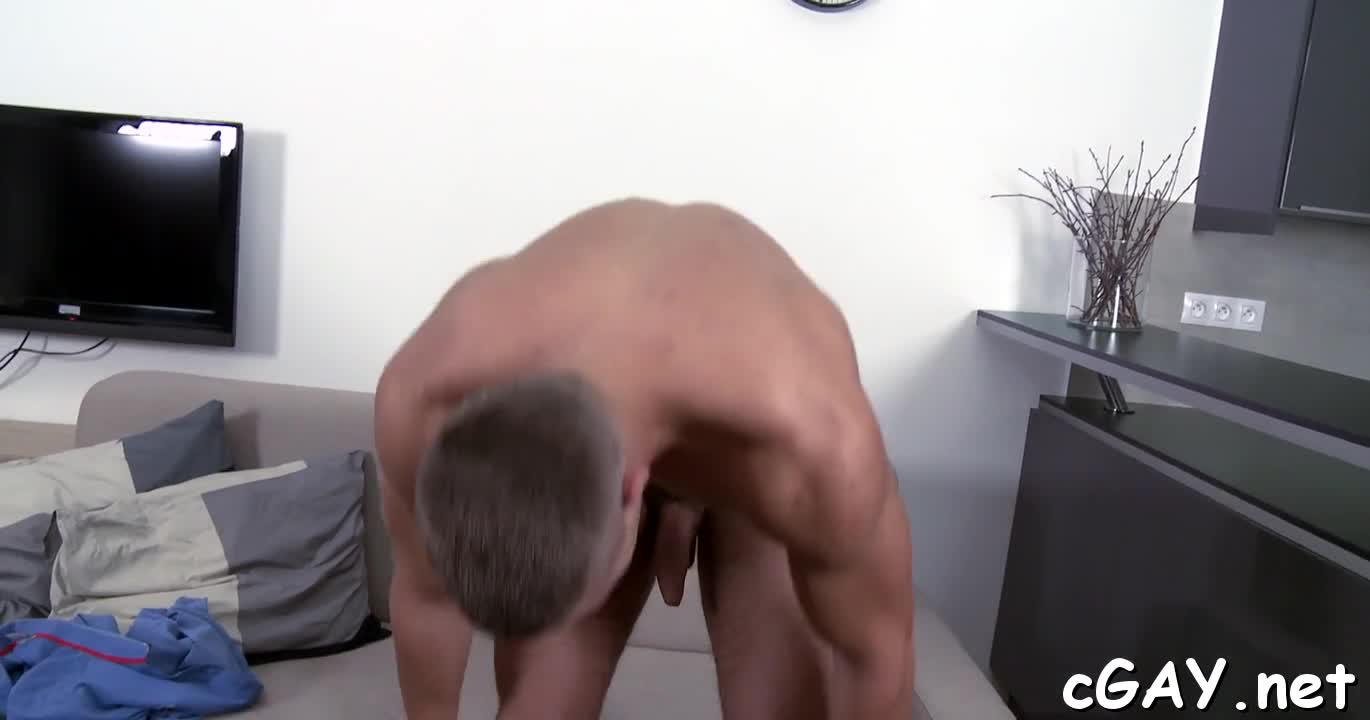 Obscene Blowjob For Lusty Gay High Quality Porn Photo